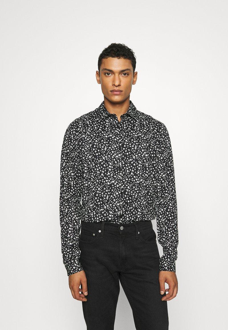 The Kooples - CHEMISE - Shirt - black/white