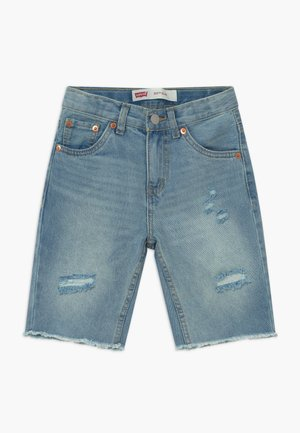 UNBASIC 511 SHORT - Denim shorts - bleached denim