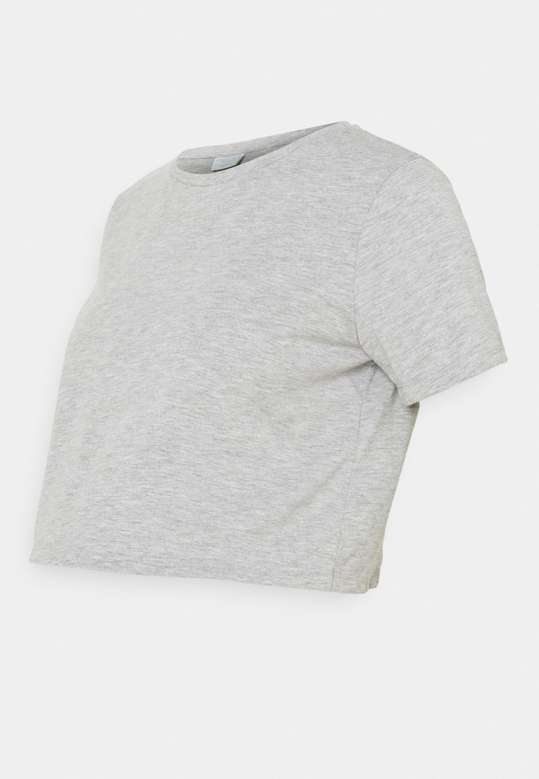 Mujer PCMRINA CROP  - Camiseta básica