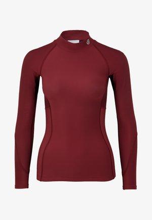 THERMAL - Sports shirt - burgundy