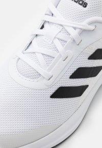adidas Performance - FORTARUN KIDS NEXT CLOUDFOAM TRAINING SHOES UNISEX - Neutral running shoes - footwear white/core black - 5