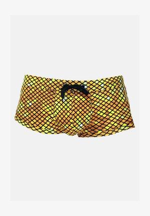 Swimming trunks - gelb/braun