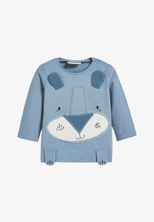 BLUE ANIMAL APPLIQUé STRETCH T-SHIRT AND LEGGINGS SET (0MTHS-3Y - Punčochy - blue