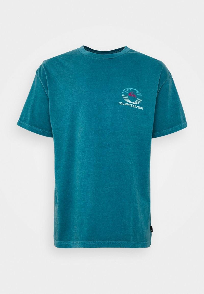 Quiksilver - NEON BALLROOM  - Print T-shirt - blue coral