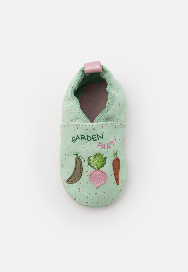 Robeez - CHIC GARDEN - First shoes - vert clair