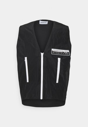 POCKET VEST - Waistcoat - black
