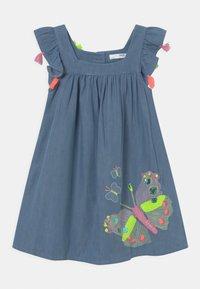 Marks & Spencer London - BUTTERFLY DRESS - Spijkerjurk - blue denim - 0