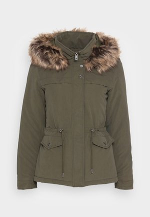 ONLSTARLINE  - Winter jacket - forest night