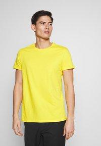 Pier One - 5 PACK - T-shirt basic - olive/ white/ navy /yellow /black - 5