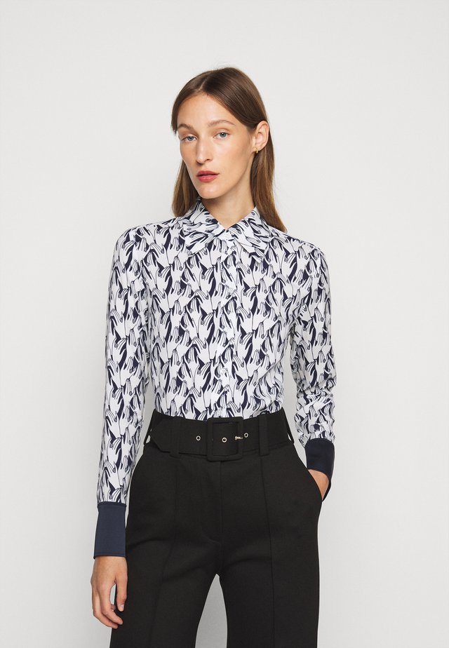 PRINTED - Overhemdblouse - midnight
