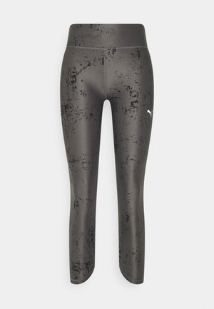 RUN GRAPHIC RISE 7/8  - Tights - puma black