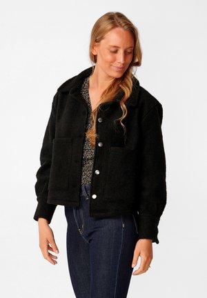 VIKSA - Summer jacket - black