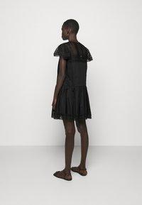 TWINSET - ABITO CON SOTTOVESTE  - Day dress - nero - 2