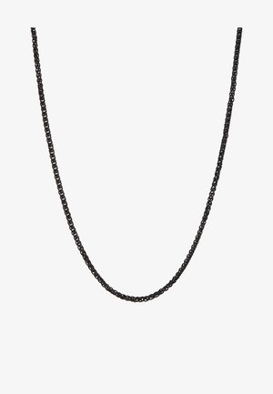 WHEAT LINK NECKLACE - Náhrdelník - black
