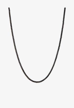 WHEAT LINK NECKLACE - Necklace - black