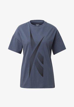 VECTOR GRAPHIC T-SHIRT - Printtipaita - blue