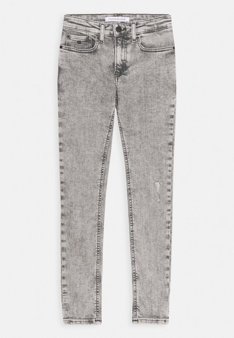 Calvin Klein Jeans - SUPER SKINNY LIGHT WASH - Jeans Skinny Fit - denim