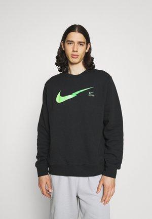 ZIGZAG CREW - Sweatshirt - black