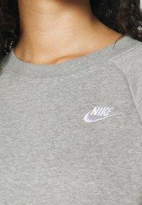 Nike Sportswear - CREW - Sweatshirt - dark grey heather/matte silver - 3