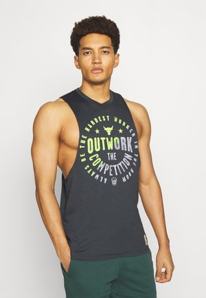 PROJECT ROCK OUTWORK TANK - Débardeur - pitch gray