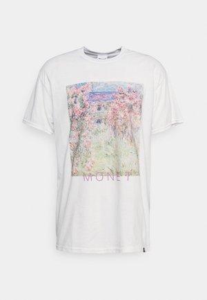MONET ARTS PRINT - Print T-shirt - white