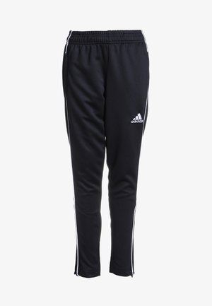 CORE ELEVEN AEROREADY FOOTBALL PANTS - Tracksuit bottoms - black/white