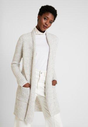 Cardigan - white melange