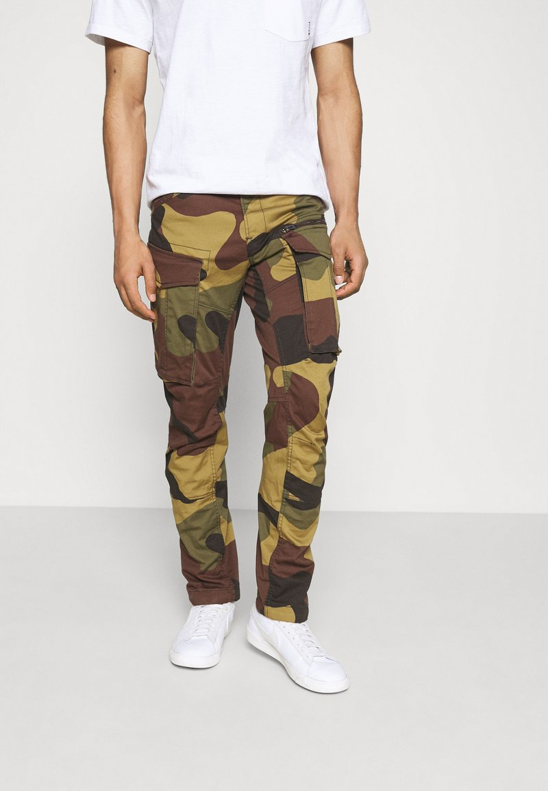 G-Star - ROVIC ZIP TAPERED - Cargo trousers - wood