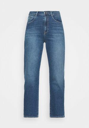 Džíny Straight Fit - blue medium wash