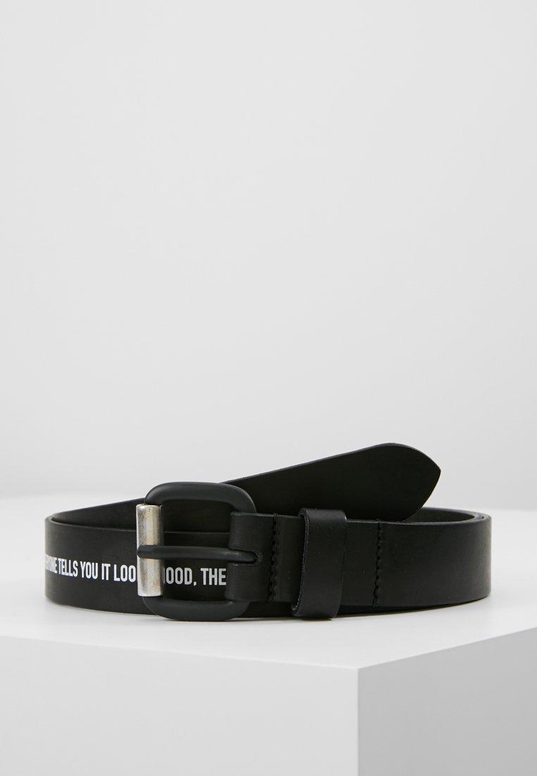 Diesel - B-CRESPINO - BELT - Belt - black