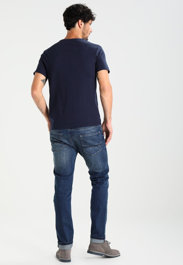 Pier One T-shirt basic - dark blue/granatowy Odzież Męska MRVX