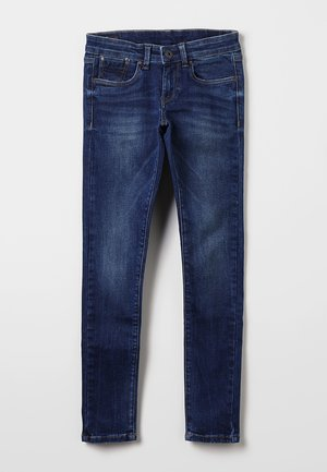 PIXLETTE - Vaqueros pitillo - dark-blue denim