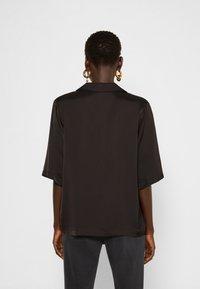 DESIGNERS REMIX - EMME  - Button-down blouse - black - 2