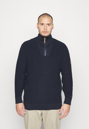 TROYER - Jumper - dark blue