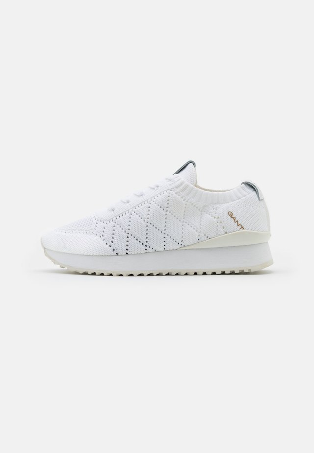 BEVINDA - Sneakersy niskie - white