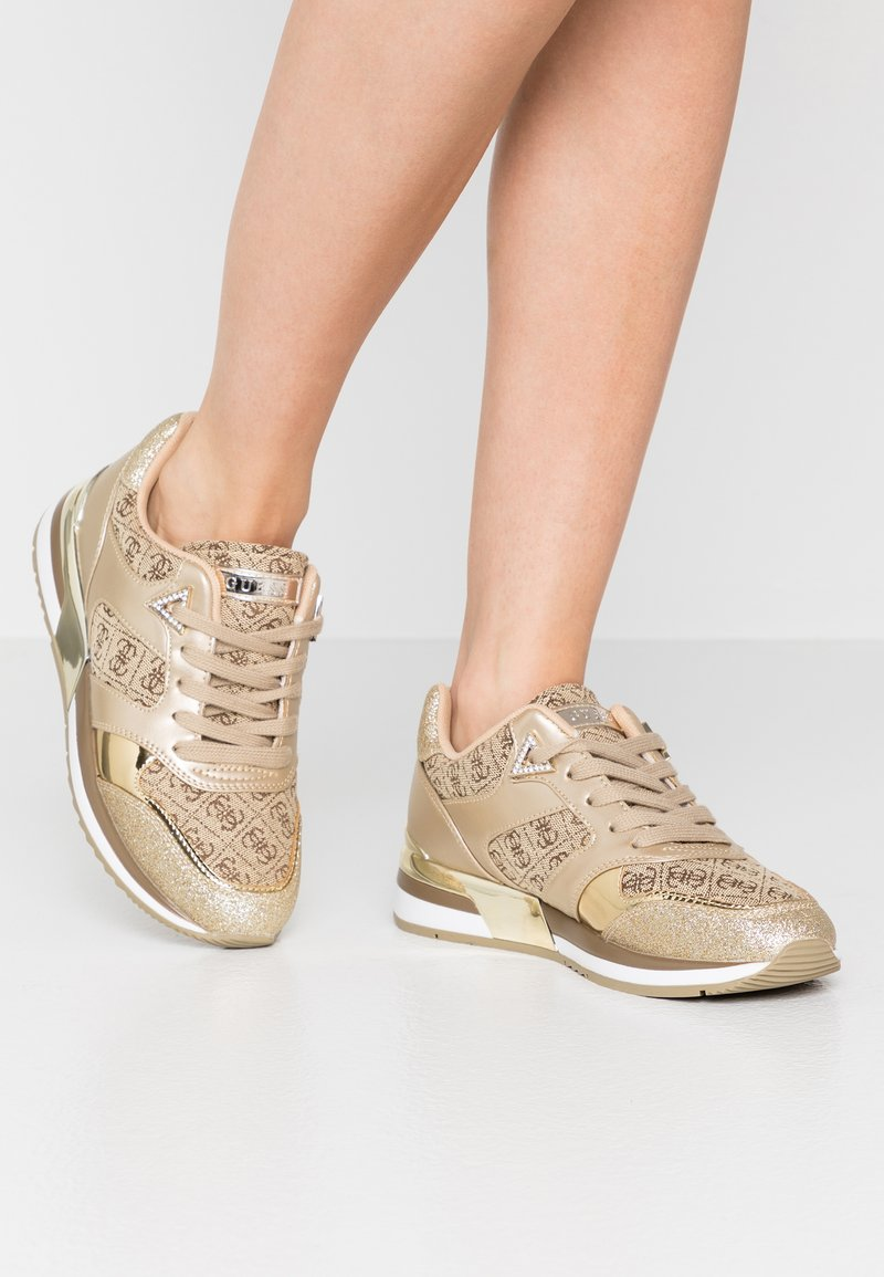 Guess - MOTIV - Sneakers - beige/light brown
