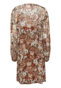 Cream - Day dress - vintage rose print - 6