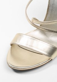 Pura Lopez - High heeled sandals - metal platin - 2