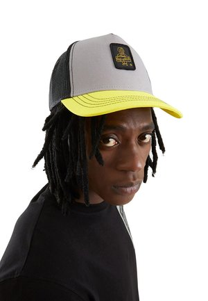 RAPPER CANVAS - Cappellino - grigio/giallo/nero