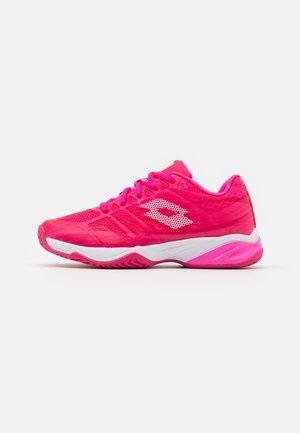 MIRAGE 300 UNISEX - Tenisové boty na všechny povrchy - vicky pink/all white/silver metal