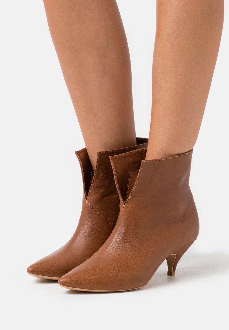 L37 - DO IT FOR MYSELF - Classic ankle boots - brown