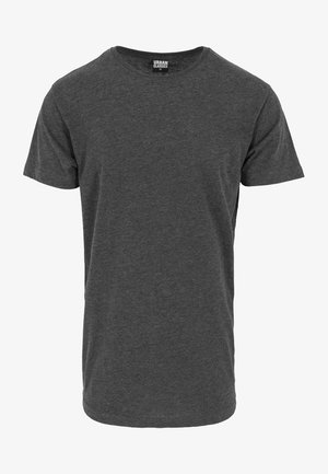 SHAPED LONG TEE DO NOT USE - Basic T-shirt - charcoal
