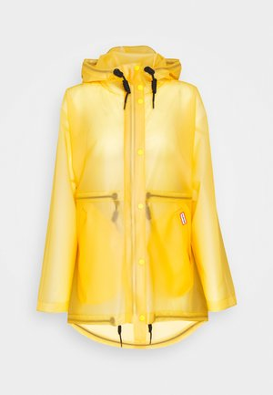 WOMENS ORIGINAL SMOCK - Waterproof jacket - yellow