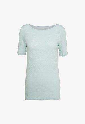 SHORT SLEEVE BOAT NECK - Basic T-shirt - misty spearmint