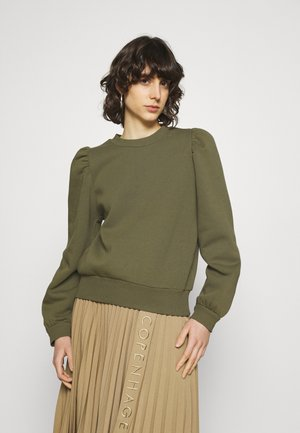 CARMELLA  - Sweatshirt - olive night