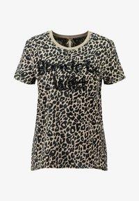 Key Largo - WT BORN - Print T-shirt - sand - 0
