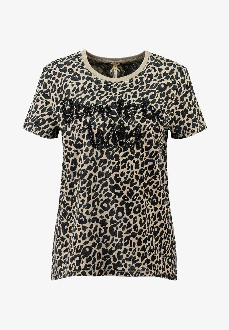 Key Largo - WT BORN - Print T-shirt - sand