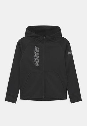 Training jacket - black/white/smoke grey
