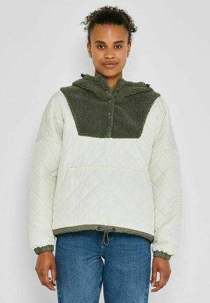 ANORAK GESTEPPT - Winter jacket - eggnog