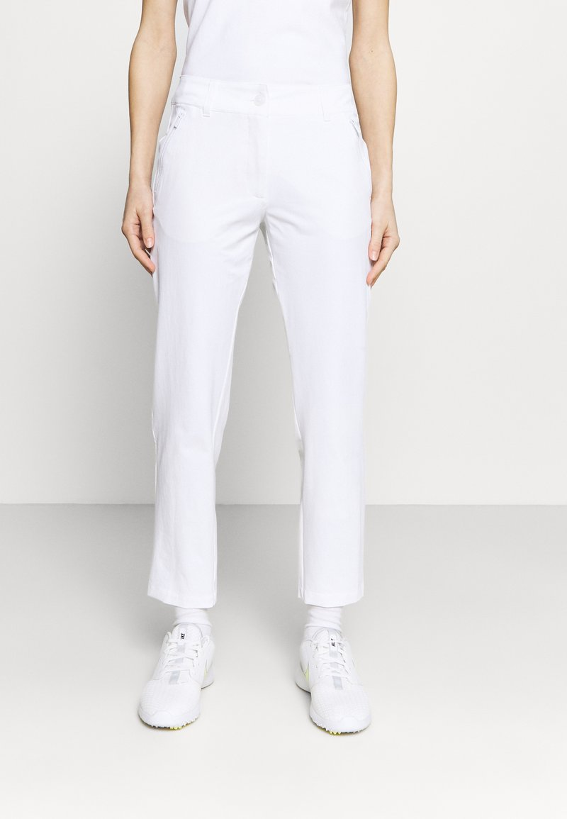 Calvin Klein Golf - ARKOSE TROUSER - Trousers - white